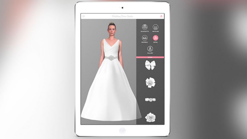 New Wedding Dress App Uses 'Augmented Reality Technology' for ...