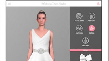 PHOTO: A new app lets brides discover the best wedding dress styles suited for their body