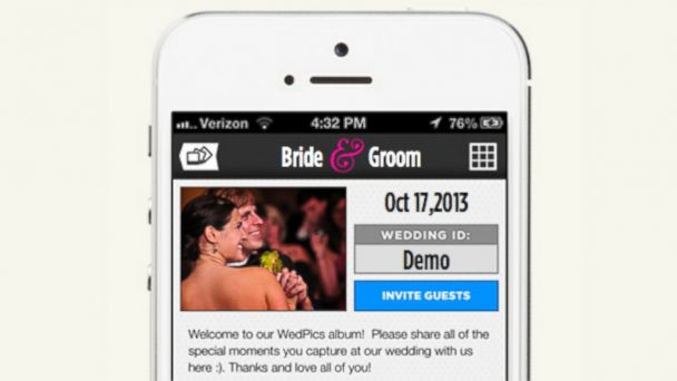 PHOTO: Wedpics.com is an online resource that streamlines the wedding planning process for the modern bride.