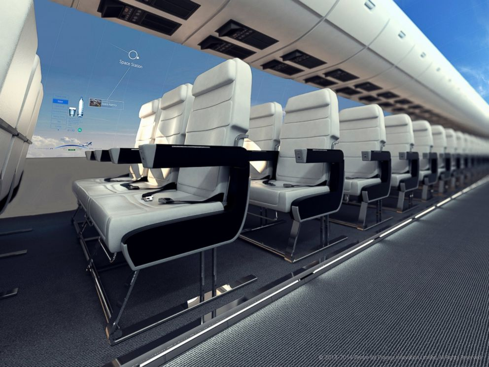 PHOTO: Wider seating while you enjoy panoramic views.