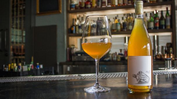 PHOTO: Orange wine is a great, trendy new way to branch out.