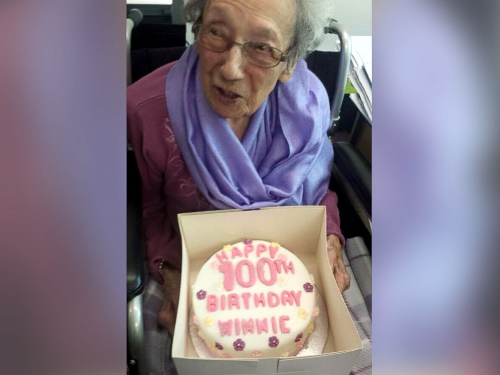 PHOTO: Winnie Blagden turned 100 years old on May 31st.