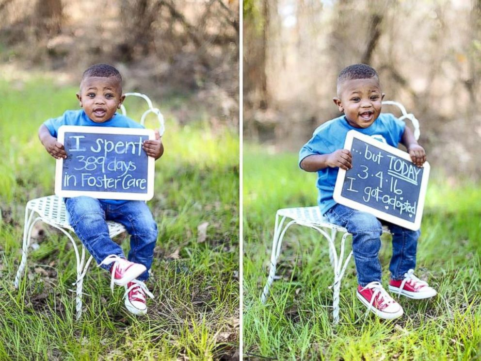 Boy adopted by family in same neighborhood as his biological photo elijah 17 months was adopted on march 4 immediately after his ccuart Choice Image
