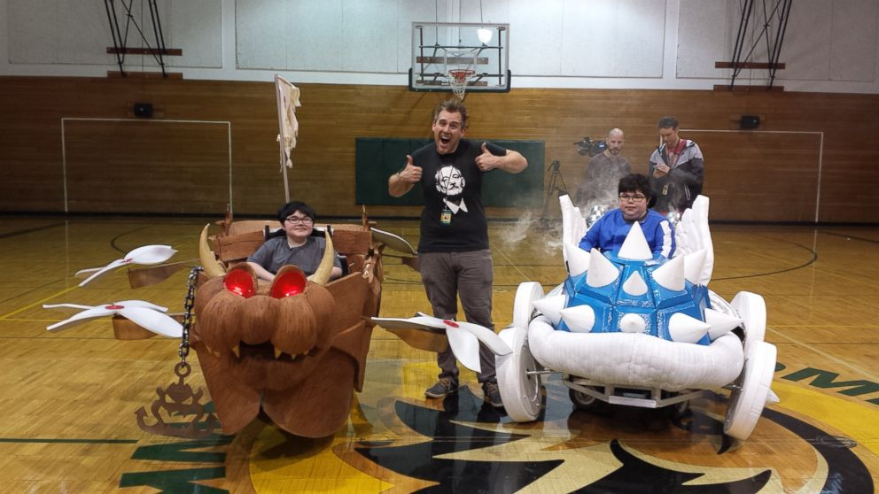 these kidsu0027 tricked out wheelchair costumes are epic halloween treat abc news