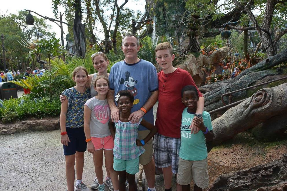 PHOTO: Missy Flint and family at World of Avatar.