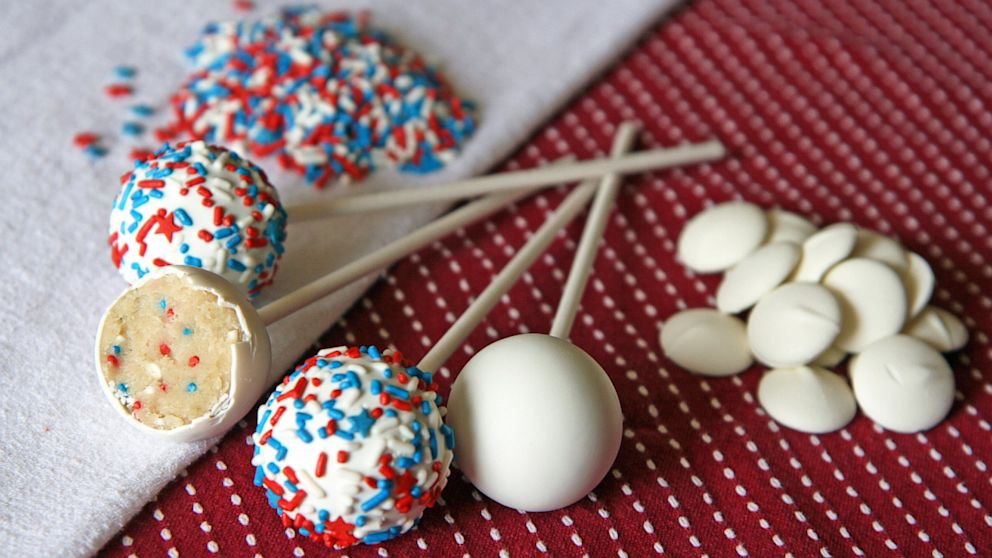 4th Of July Cake Pops Cream Cheese Buttercream Recipe