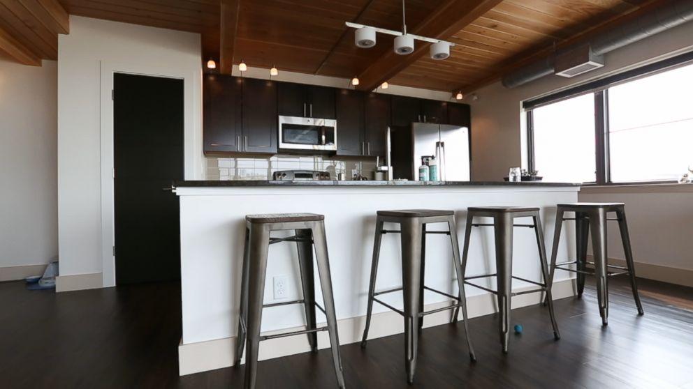 PHOTO: Ryan Nicodemus kitchen is pictured here at his loft in Missoula, Mont.