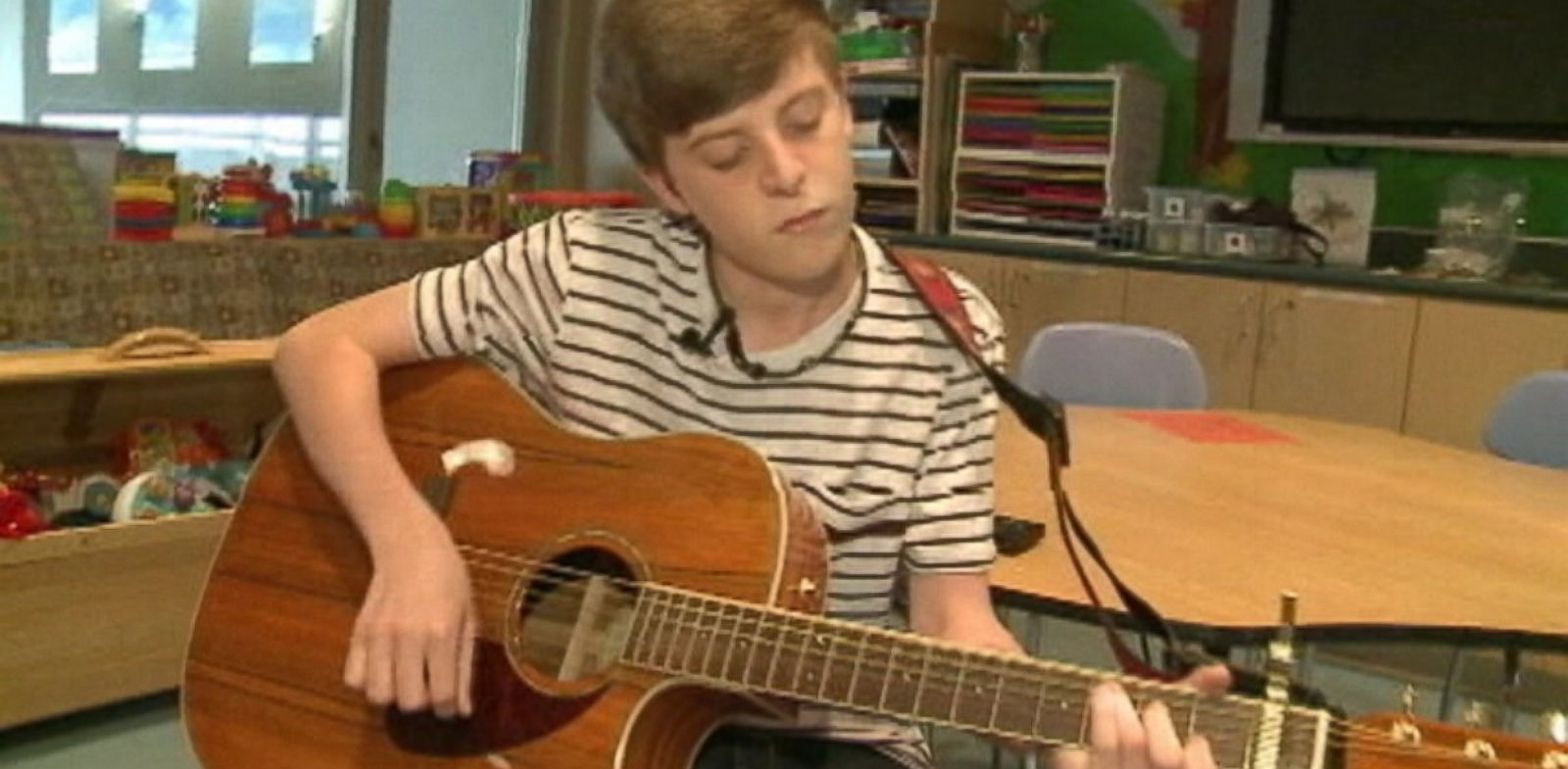 PHOTO: A Raceland teen who was born with a cleft palate is singing - something doctors said would not be possible.