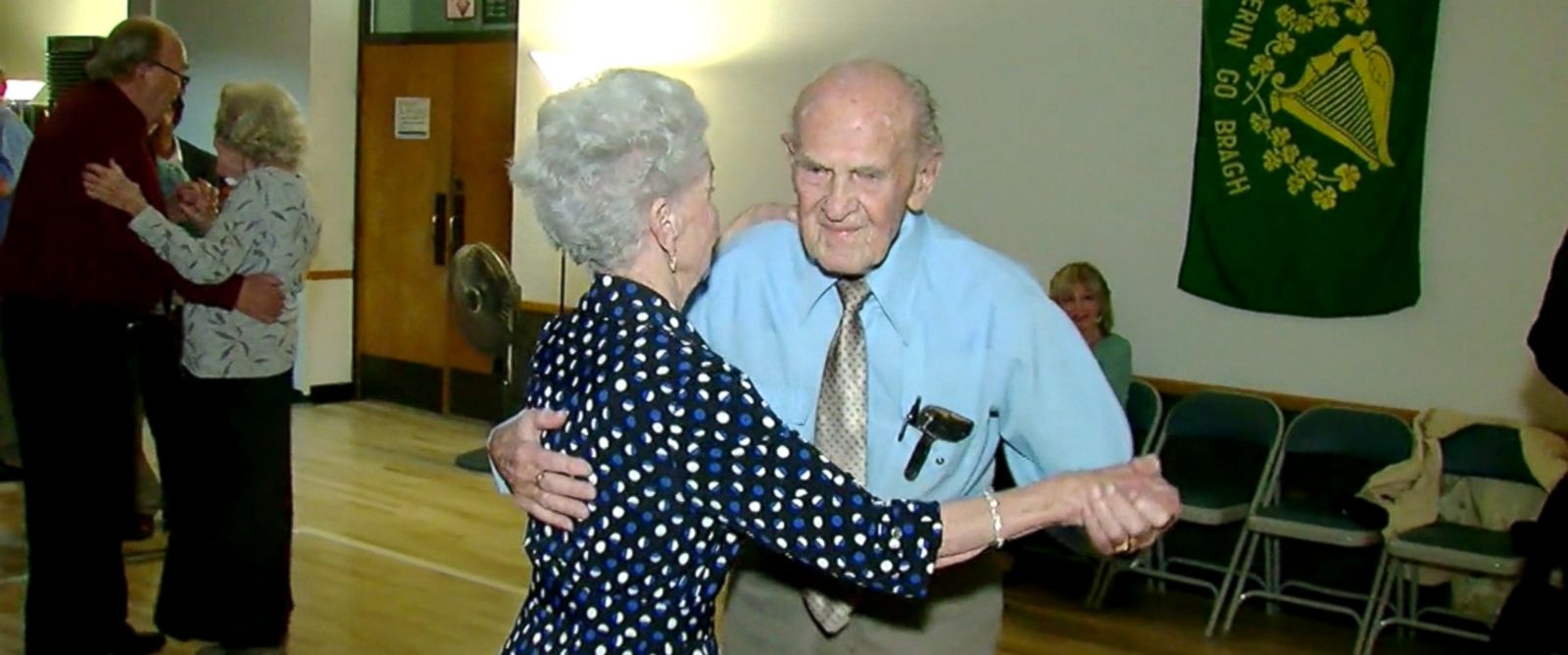 PHOTO: Karl Tinggaard, 103, is known for dancing every Thursday night at a senior center in Murray, Utah.