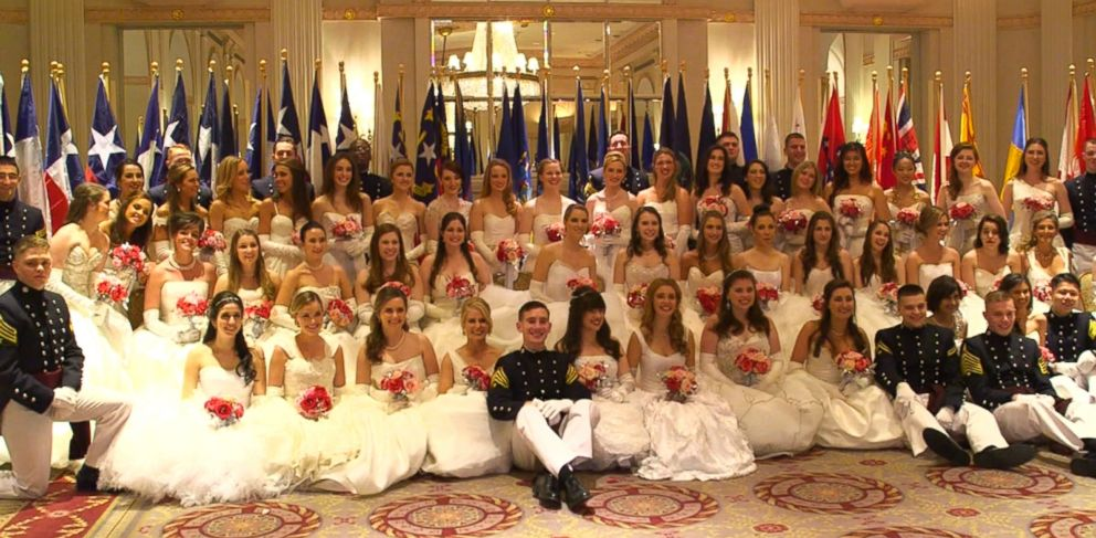 These young women from around the world, ranging in age from 16 to 25, are selected to be debutantes at the International Debutante Ball, held every two years at the Waldorf Astoria hotel in New York City.