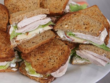 PHOTO: Emeril Lagasses Turkey Waldorf Sandwich.