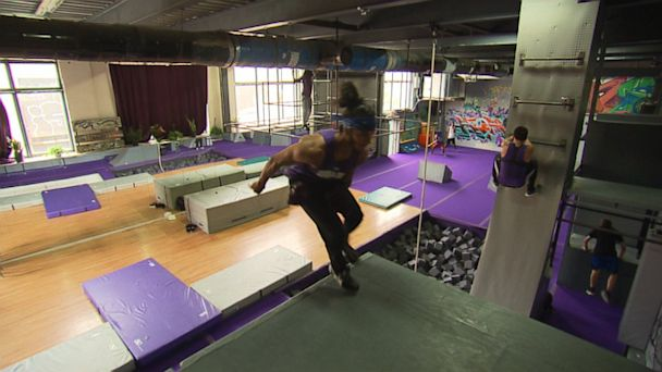 abc gym parkour jtm 130926 16x9 608 Parkour Turns Childs Play Into an Intense Workout for Grown Ups