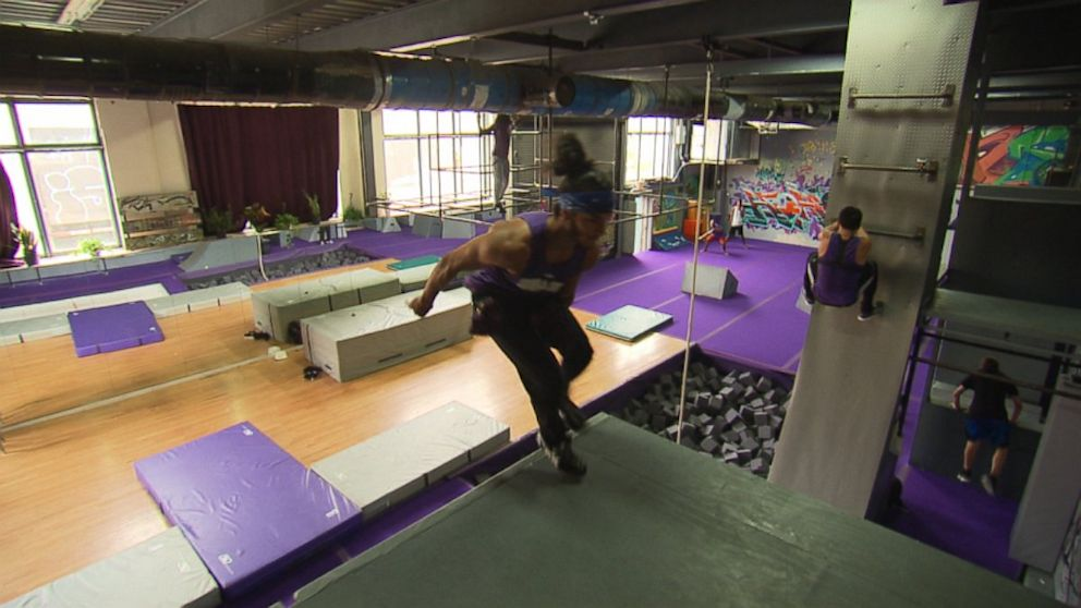 Parkour Turns Childs Play Into An Intense Workout For Grown Ups