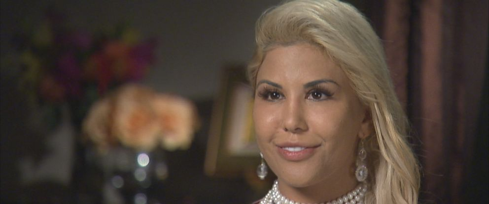 "Tiffany Taylor is seen here during an interview with ABC News ""Nightline."""