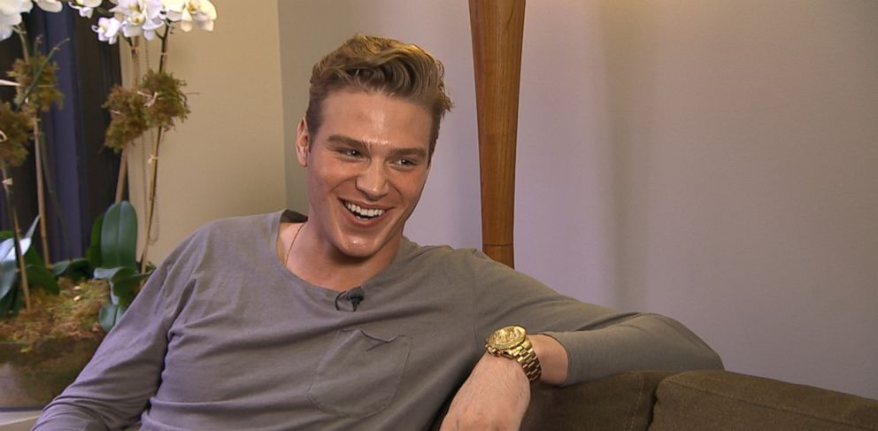 Matthew Noszka, 22, was working construction jobs before a modeling agency discovered him on Instagram.