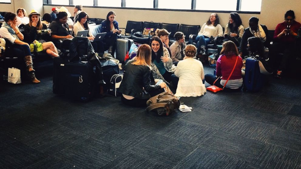 PHOTO: Sixteen New York women signed up for the chance to take on a bi-coastal matchmaking experiment.