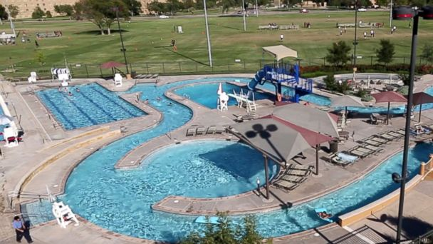 This water park is part of Texas Tech University's campus.