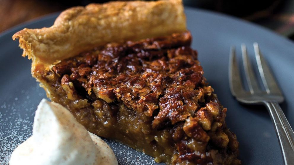 Pumpkin Pecan Pie Recipe | Carla Hall | Recipe - ABC News