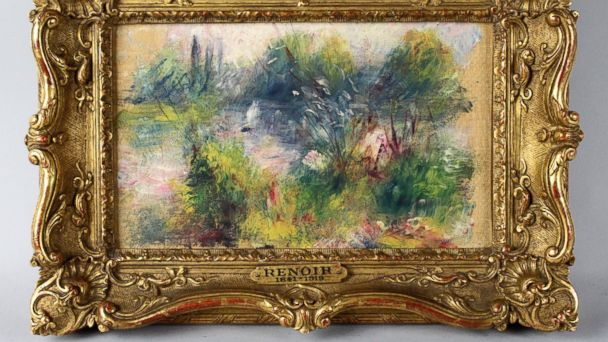 ap stolen renoir kb 140328 16x9 608 Stolen Renoir Returned to Baltimore Museum 60 Years Later
