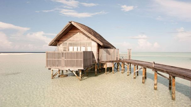 PHOTO: Cocoa Island by COMO in The Maldives is seen here.