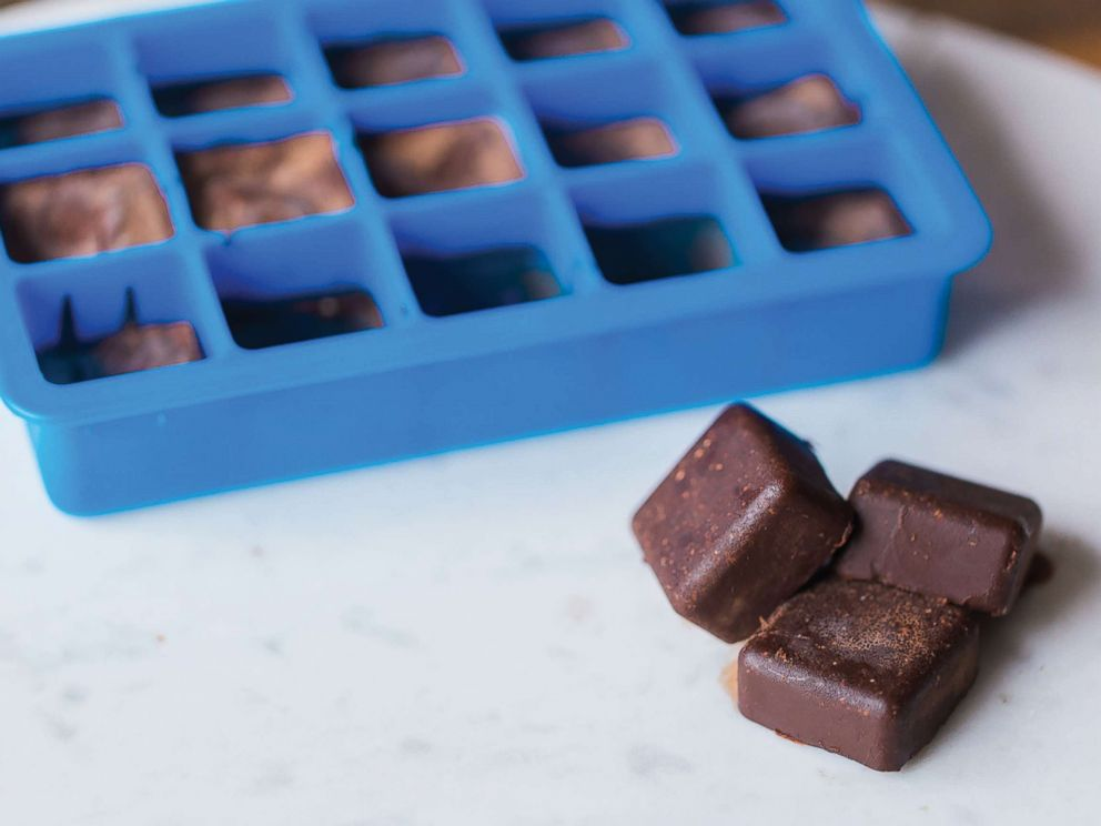 PHOTO: Body Love author Kelly LeVeque shares her recipe for healthy freezer fudge with coconut oil and cocoa powder.