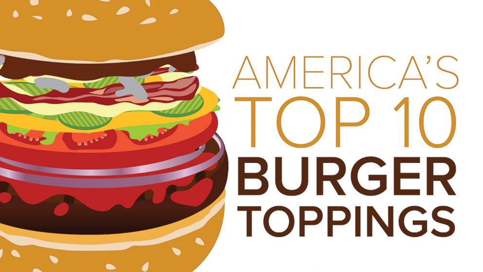 basic burger toppings