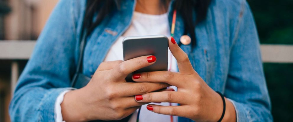PHOTO: A person uses their cell phone in this undated stock image.