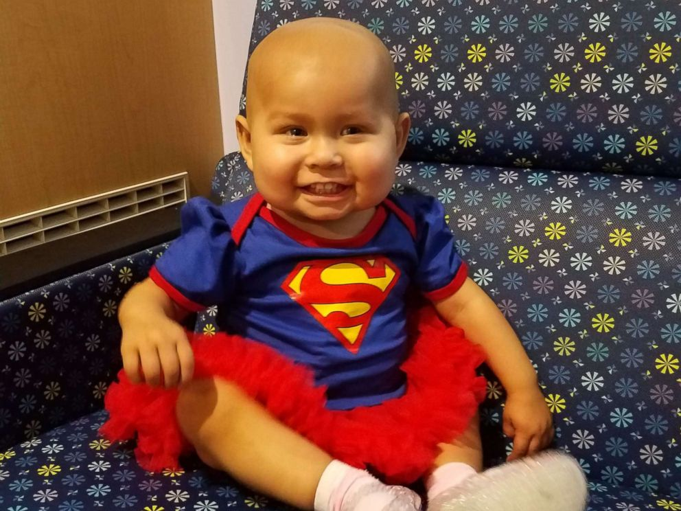 PHOTO: Emilie Meza, 1, finished her last chemotherapy treatment at John Hopkins All Childrens Hospital in St. Petersburg, Fla.