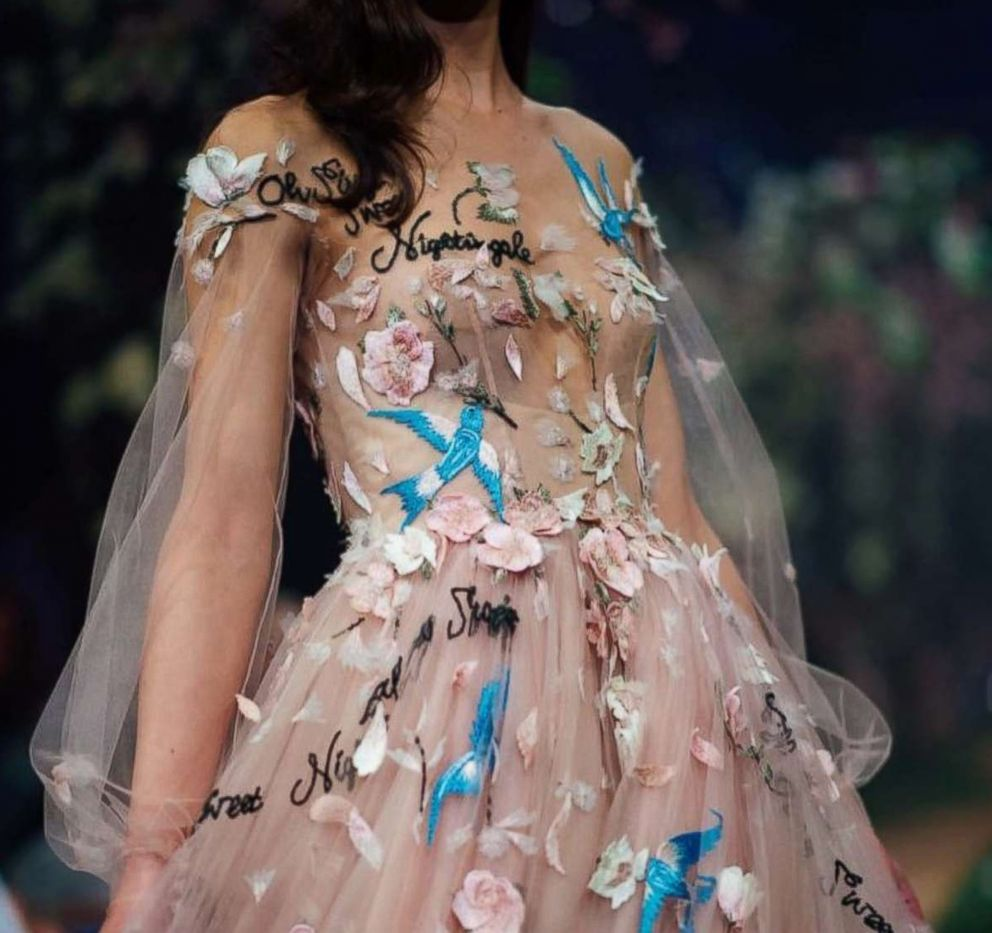 PHOTO: Australian designer Paul Vasileff created the Once Upon a Dream collection for his couture label, Paolo Sebastian.