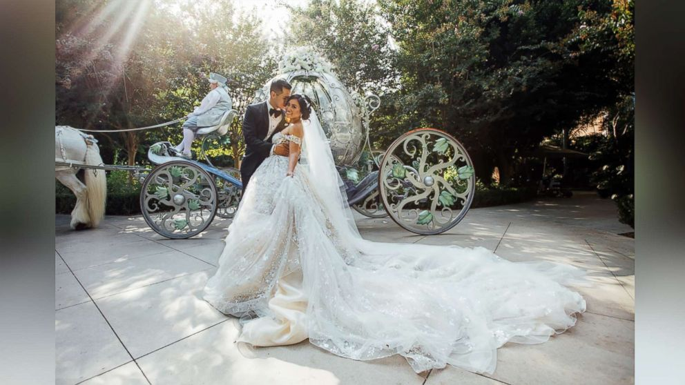 Couple's epic Fairy Tale wedding at Disneyland will blow you away