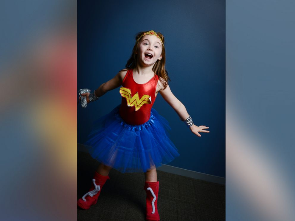 PHOTO: Wonder Woman is one of this years most popular Halloween costumes for girls.