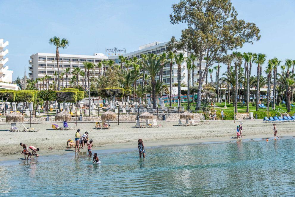 PHOTO: Elias Beach Hotel in Cyprus.