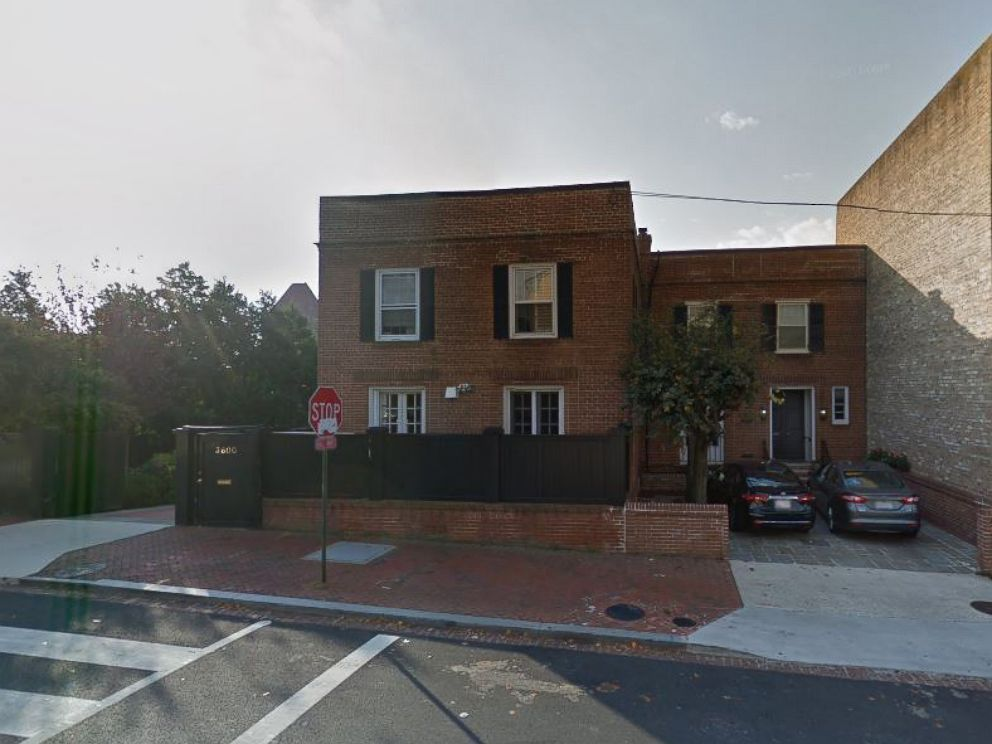 PHOTO: The home at 3600 Prospect St NW, Washington, D.C., from the film The Exorcist.