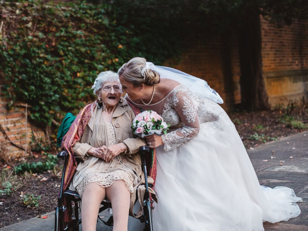 PHOTO: Her granddaughter, Keely Crimando, said her grandmother is her bestie and couldnt imagine not including her on the big day.
