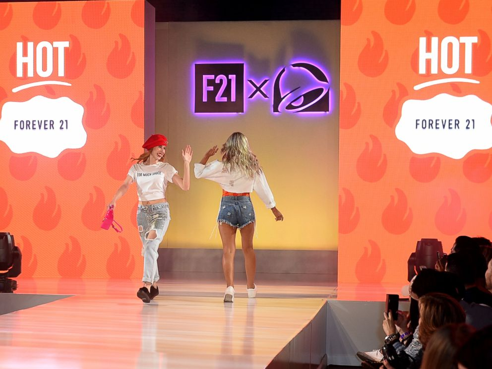 Taco Bell launches clothing line with Forever 21