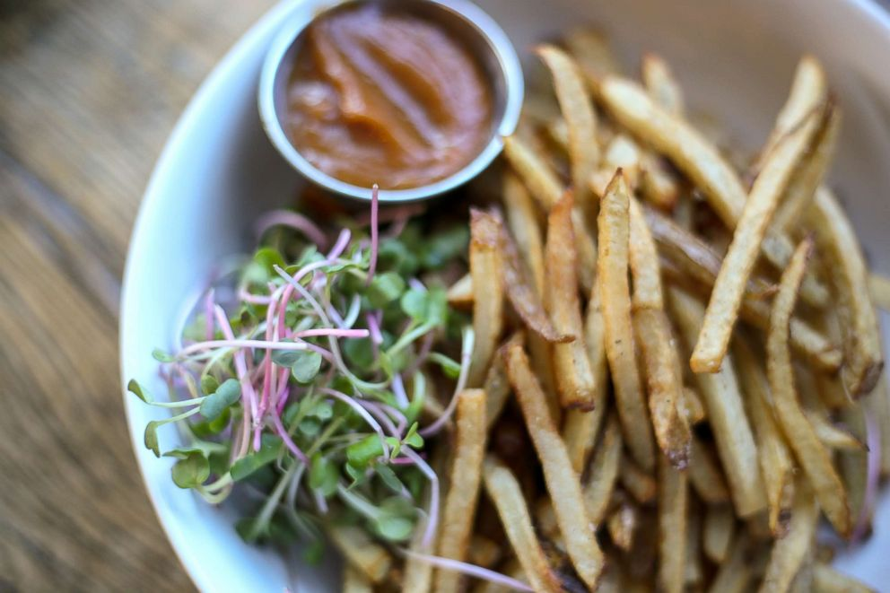 PHOTO: French fries at Wise Ace.