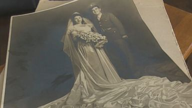 Texas family seeks owners of vintage wedding photo found in garage