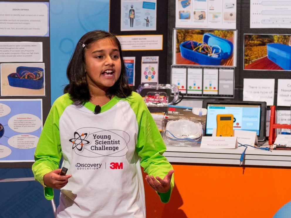 Seventh-grader Gitanjali Rao is America's `Top Young Scientist'