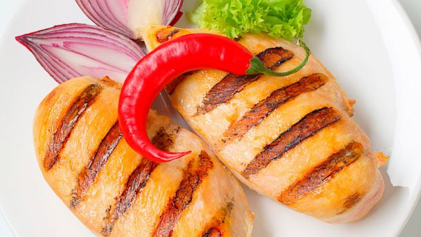 PHOTO: Grilled chicken breasts in the Fast Diet.