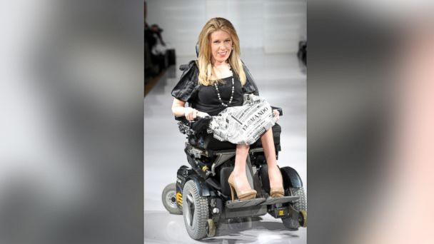 gty danielle sheypuk nyfw kb 140213 16x9 608 First Model in Wheelchair at New York Fashion Week Has Message for Fashion Industry