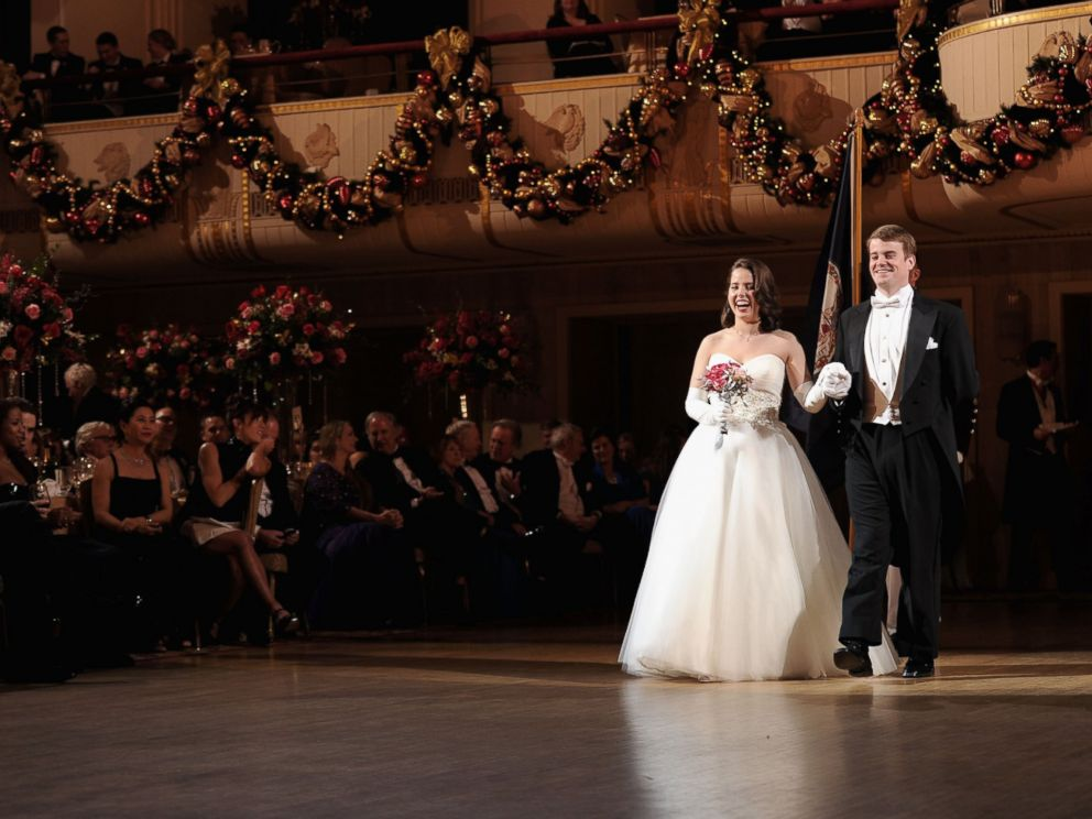 PHOTO: Debutante Sarah Mathison of Virginia attends the 60th International Debutante Ball at The Waldorf Astoria on Dec. 29, 2014 in New York City.