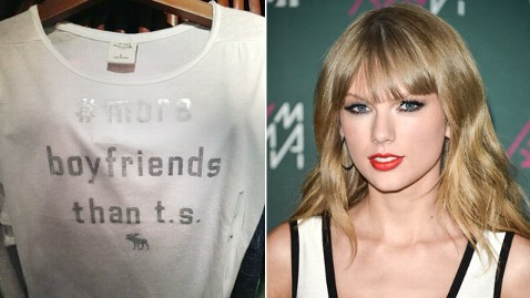 gty ht taylor swift dm 130621 wblog Abercrombie & Fitch Draws Ire From Taylor Swift Fans