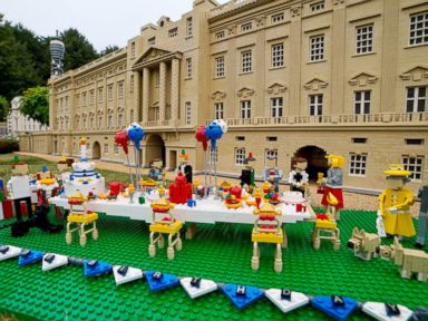 Legoland Creates Prince George's Birthday Party