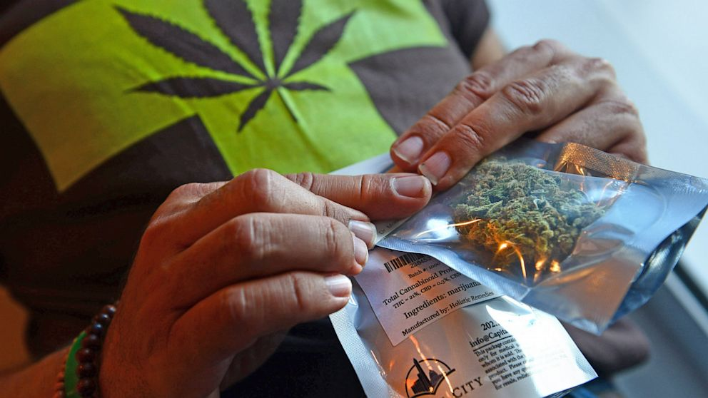 PHOTO: Since 20 states have legalized marijuana use for medical purposes, the Transportation Safety Administration has entered a gray zone regarding its policy when found in luggage.