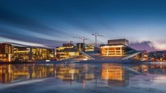 PHOTO: The Oslo opera house in Norway.