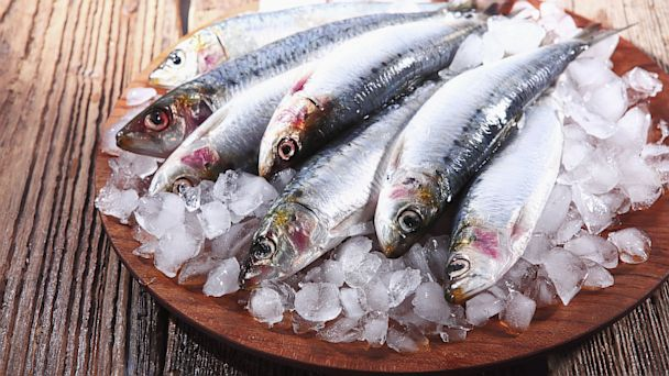PHOTO: Sardines on ice