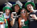 PHOTO: People enjoy the festivities on St Patricks Day at the Muddy Farmer Bar on March 17, 2009 in Auckland, New Zealand.