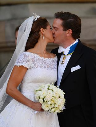Royal Wedding of Sweden's Princess Madeleine