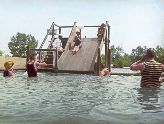 gty vienna slide tk 130722 Going for a Dip, Way Back When