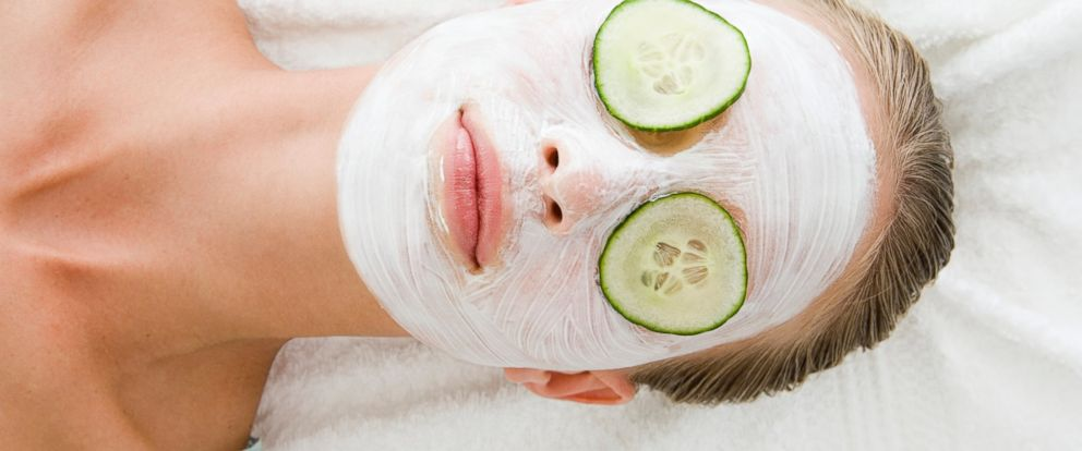 PHOTO: A woman is seen wearing a face mask.